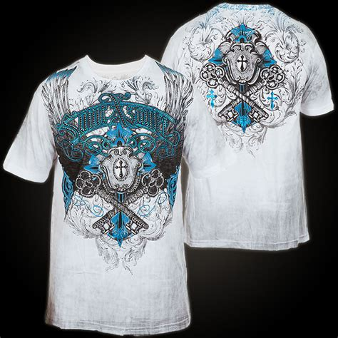 xzavier bender stones t shirt white t shirt with large print designs with foil and rhinestones