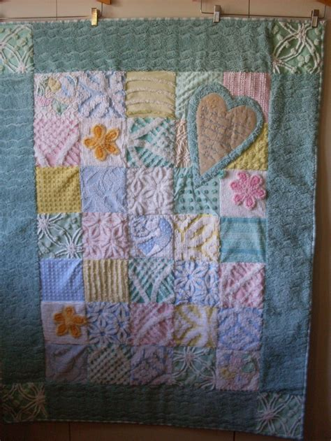 Chenille Quilt Pattern by Chenille Quilt So Pretty Ib Quilts