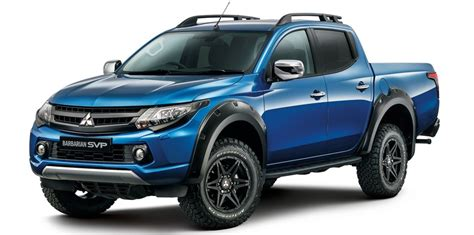 mitsubishi uk adds special edition triton as part of