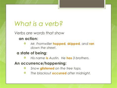 verbs 1
