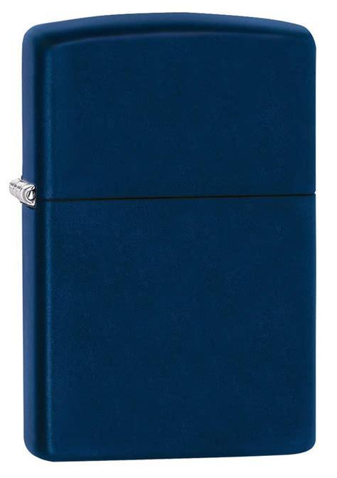 Korek Zippo Matte Navy classic navy blue matte windproof lighter zippo