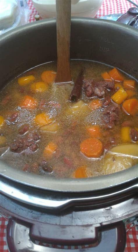 Panci Presto Hamada sup iga kacang merah kaliskukis