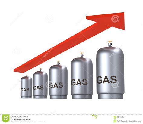 aumento de precio de gas precio de aumento del concepto del gas imagenes de archivo