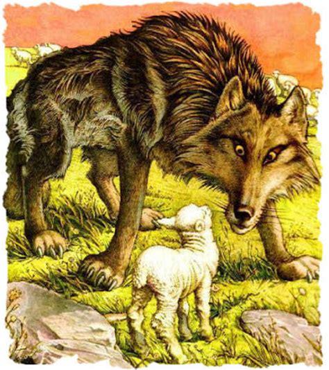 sto una favola testo il lupo e l agnello