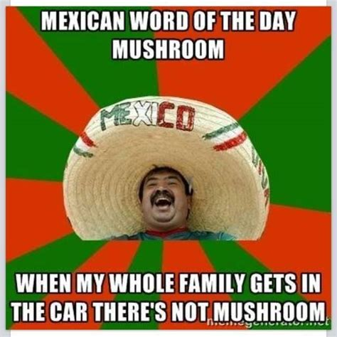 Funny Memes About Mexicans - mexican word of the day antz in pantz