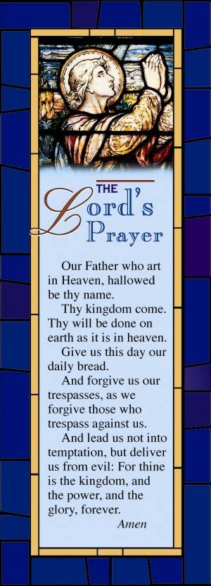 printable prayer bookmarks 7 best images of lord s prayer bookmark printable lord s