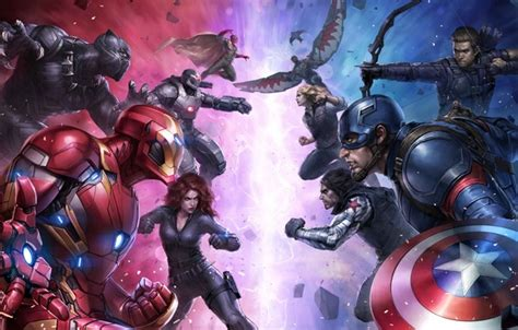 Captain America Civil War Myst iron avenger wallpaper