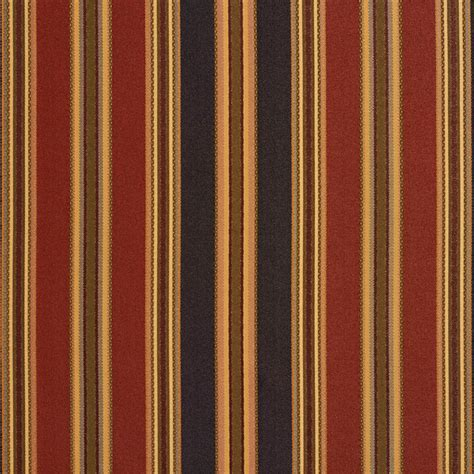 Striped Upholstery Fabrics by Black Green Burgundy Striped Faux Silk Upholstery Fabric