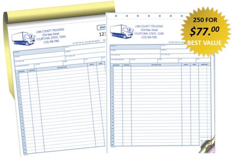 trucking company invoice template trucking invoices