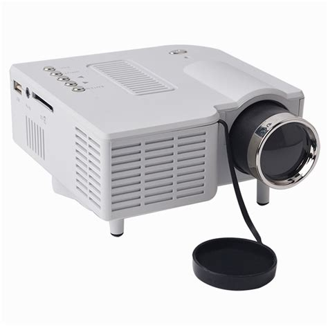 Mini Projector Uc28 1080p hd multimedia uc28 portable mini led projector