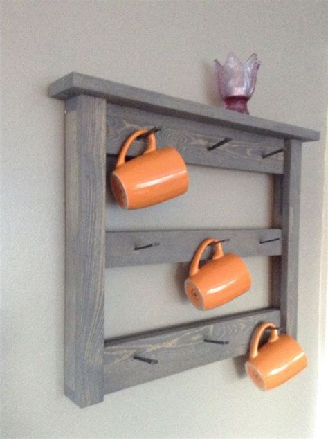 Coffee Cup Hooks Kitchen by Best 25 Coffee Mug Storage Ideas On Hanging