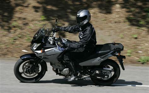 2007 Suzuki V Strom 650 Review 2007 Suzuki V Strom 650 Moto Zombdrive