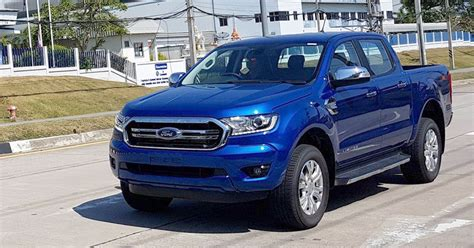 Next Ford Ranger by Spied 2018 Ford Ranger Facelift Spotted In Thailand