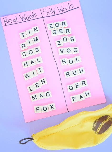4 Letter Words Using Should grab and sort cvc word building what can we do with