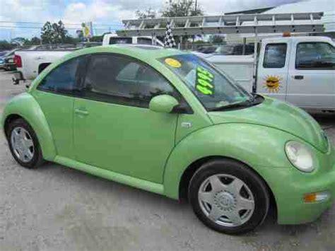 buy   volkswagen beetle gls hatchback  door  turbocharged lime green clean  largo