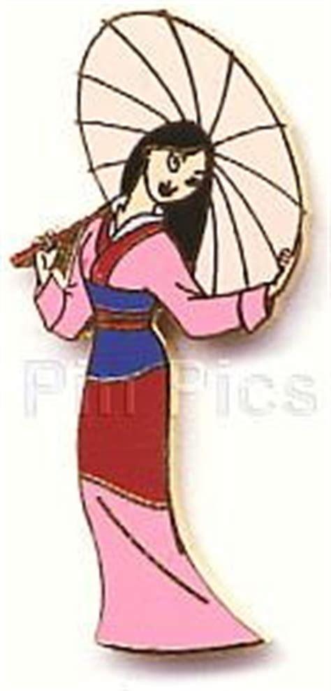 Set Mulan Maron Disney Mulan With Umbrella Pin Pins Rena S
