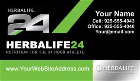 Herbalife Business Cards   1000 Herbalife Business Card $59.99