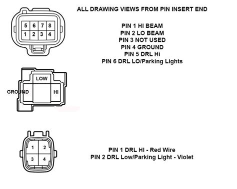 toyota tundra headlight wiring diagram wiring diagram