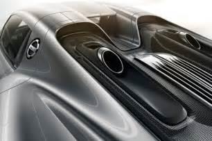 Porsche 918 Exhaust Porsche 918 Spyder Makes Auto Show Debut Photo Gallery