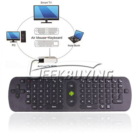 Promo Air Mouse Keyboard Wireless 2 4ghz Gyroscope Paling Murah measy rc11 wireless keyboard air mouse remote controller w