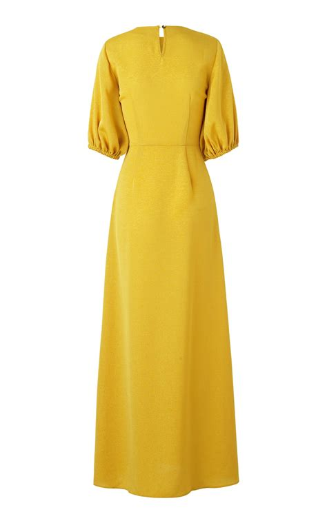 Delia Maxi Dress lyst stine goya delia maxi dress in yellow