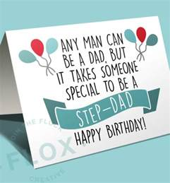 Happy Birthday Step Quotes Happy Birthday Card For Step Dad Happy Birthday