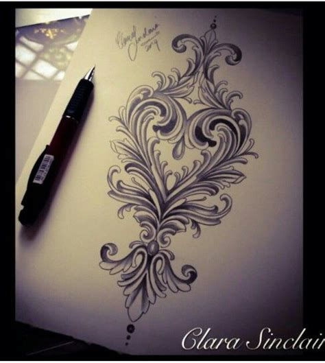 filigree heart tattoo designs 25 best ideas about filigree on