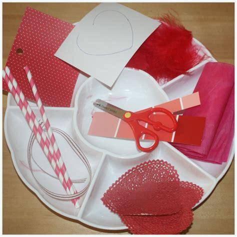 valentines scissor cutting skills activity tray