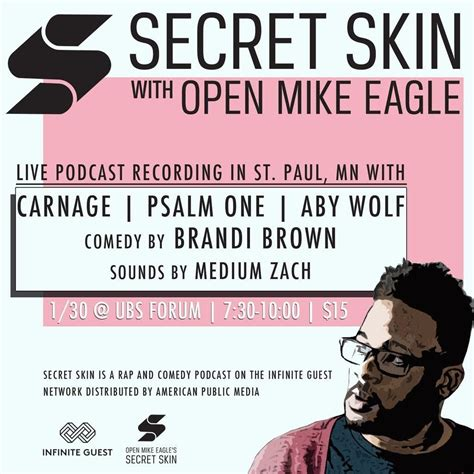 secret skin secret skin with open mike eagle events calendar the