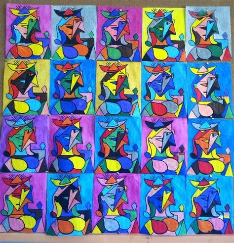 cubismo cuadros pequenines picasso cubismo proyecto picasso pinterest