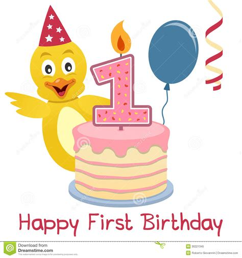 happy first year birthday first birthday cute royalty free stock photo image