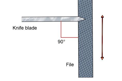how to serrate a knife how to jimp or serrate a knife blade