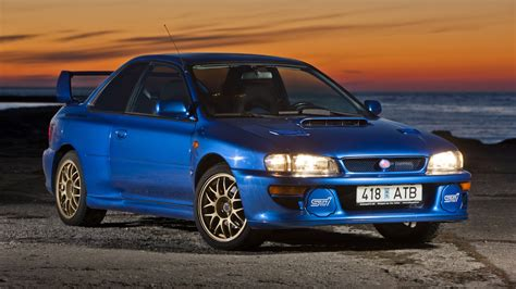 subaru gc8 22b a holy grail subaru impreza 22b sti is up for sale