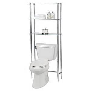 etagere bathroom toilet creative bath l etagere 3 shelf glass space saver bed