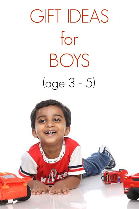 gift ideas for a 5 year 10 gift ideas for four year boys