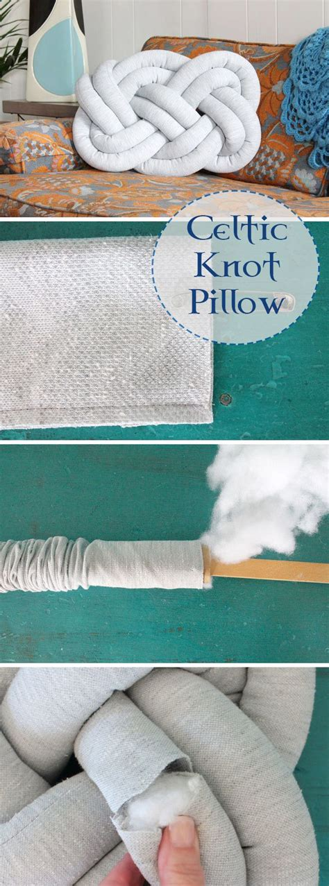 diy knot pillow diy knot pillow knot pillow