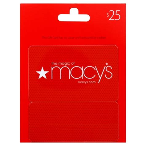 25 macy s gift card - Lost Macys Gift Card