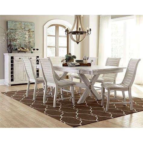 kansas distressed finish rectangular wood dining room 17 best images about cottage kitchen dining room on
