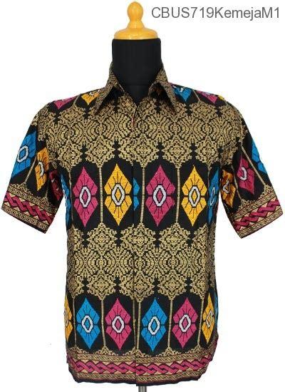 Kemeja Batik Lengan Pendek Prodo Kapal sarimbit setelan kemeja prodo motif songket kemeja lengan pendek murah batikunik