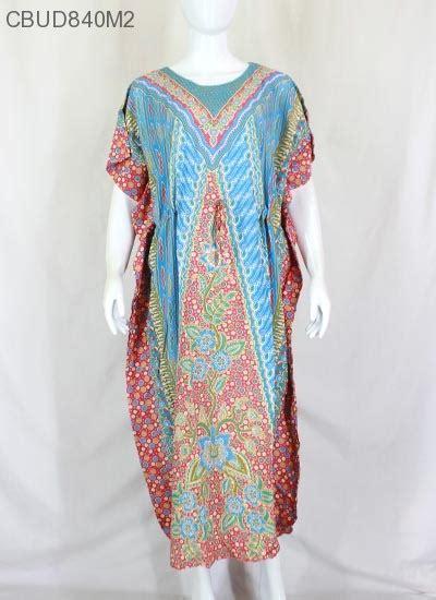 Longdress Batik Jumbo Baju Santai Wanita Jumbo Perumahan Daster Murah daster kelelawar motif parang hap daster longdress