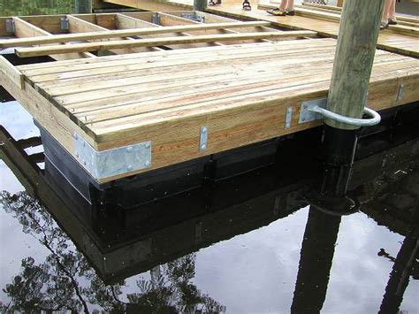 how to build a boat dock with plastic barrels dock builders supply floating dock photos page 1