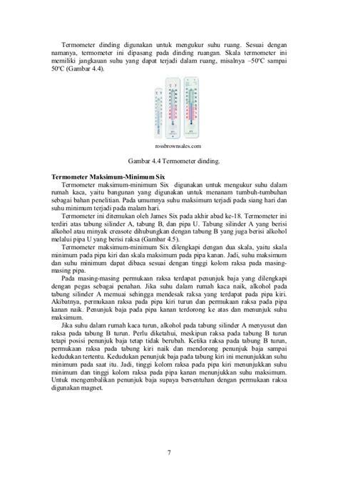 Mengapa Termometer Badan Raksa fisika dasar prodi ipa suhu dan kalor