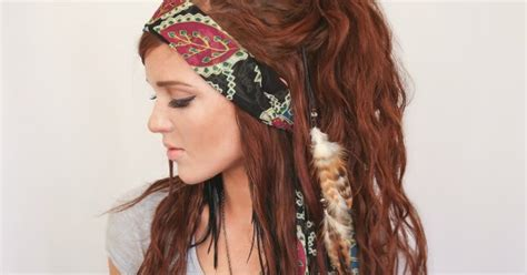 gypsy style hairstyles the freckled fox festival hair week bohemian gypsy style
