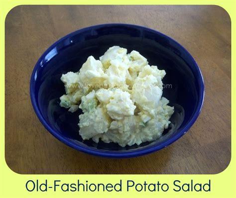 potato salad old fashioned potato salad recipes pinterest