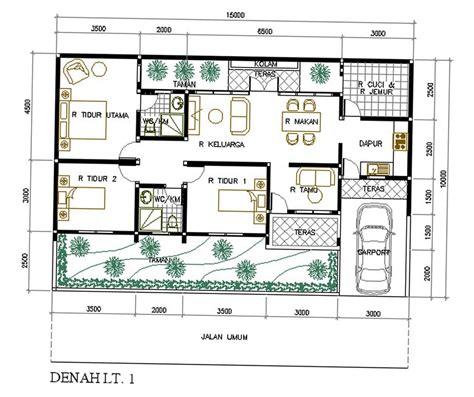desain rumah 7 x 10 100 desain rumah luas 350 m2 model desain tak