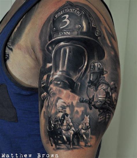 fireman tattoos best 25 fireman ideas on firefighter