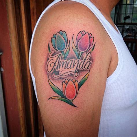 red tulip tattoo designs 55 flower designs ideas design trends premium