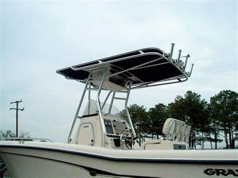 t top on boat boat t tops accessories virginia custom boat tops