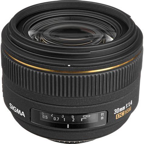Sigma 30mm F 1 4 Dc Hsm sigma 30mm f 1 4 ex dc hsm autofocus lens for nikon 300306 b h