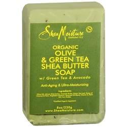 shea moisture organic bar soap olive green tea olive